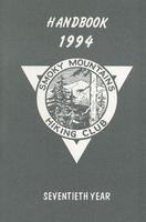 1994 Handbook of the Smoky Mountains Hiking Club