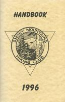1996 Handbook of the Smoky Mountains Hiking Club