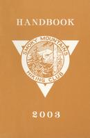 2003 Handbook of the Smoky Mountains Hiking Club