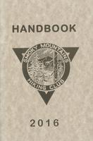 2016 Handbook of the Smoky Mountains Hiking Club