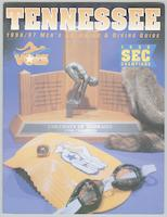 University of Tennessee Swimming-Diving media guide, 1996-1997