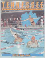 University of Tennessee Swimming-Diving media guide, 1995-1996