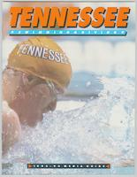 University of Tennessee Swimming-Diving media guide, 1993-1994
