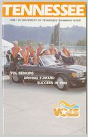 University of Tennessee Swimming-Diving media guide, 1988-1989