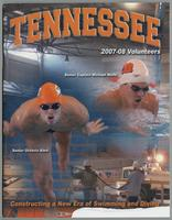 University of Tennessee Swimming-Diving media guide 2007-2008