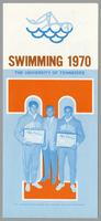 University of Tennessee Swimming-Diving media guide, 1970