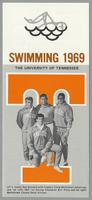 University of Tennessee Swimming-Diving media guide, 1969