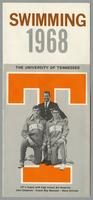 University of Tennessee Swimming-Diving media guide, 1968