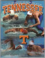 University of Tennessee Swimming-Diving media guide 2003-2004