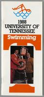 University of Tennessee Swimming-Diving media guide, 1987-1988