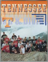 University of Tennessee Swimming-Diving media guide 2000-2001