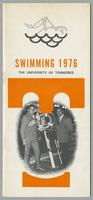 University of Tennessee Swimming-Diving media guide, 1976