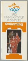 University of Tennessee Swimming-Diving media guide, 1983