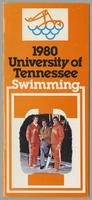 University of Tennessee Swimming-Diving media guide, 1979-1980