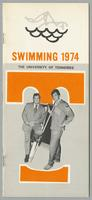 University of Tennessee Swimming-Diving media guide, 1974