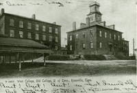 University of Tennessee's Old College and West College