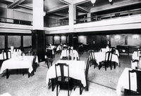 Dining room of the Imperial Hotel