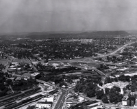 Knoxville freeway interchange