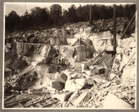 Marble quarry near Knoxville