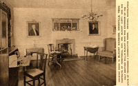 Drawing room in the Blount Mansion