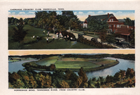 View of the Cherokee Country Club and the Horseshoe Bend