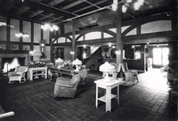 Interior of the Whittle Springs Hotel