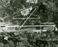 Aerial view of McGhee Tyson Airport