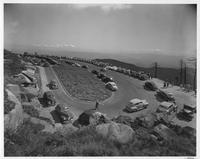 Parking Plaza on Clingmans Dome