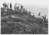 Hiking Club on Mt. Le Conte Cliff Top, 1927