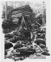 Primitive Grist, or Tub Mill, Le Conte Creek