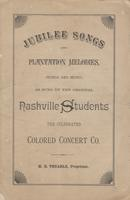 Jubilee songs and plantation melodies