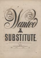 Wanted - A substitute