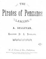The pirates of Penzance lancers