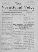 The vocational voice, volume 1, number 10