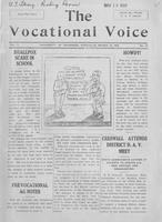 The vocational voice, volume 1, number 16
