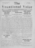 The vocational voice, volume 1, number 14