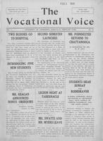 The vocational voice, volume 1, number 13