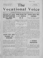 The vocational voice, volume 1, number 12