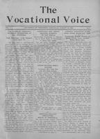The vocational voice, volume 1, number 4