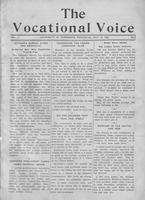 The vocational voice, volume 1, number 2