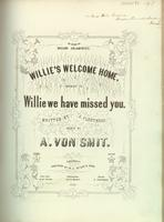 Willie's Welcome Home