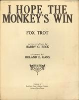 I Hope the Monkey's Win