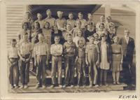 Big Springs Elementary School class photograph