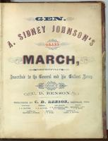 Gen. A. Sidney Johnson's Grand March