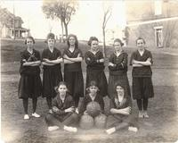 Girls basketball team at Maryville Polytechnic School in Tennessee