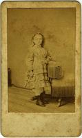 Elizabeth West Walton as a child