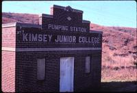 The Kimsey Junior College pumping station