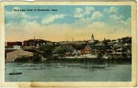 Bird's-eye View of Clarksville, Tennessee