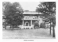 Nurses and their residence hall at the Mountain Branch of the National Home for Disabled Volunteer Soliders
