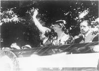 Eleanor Roosevelt's visit to Mountain Home and Johnson City, Tennessee